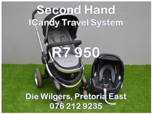 Second Hand ICandy Travel System
