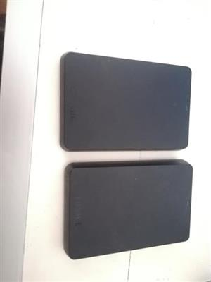 TOSHIBA Hard drive 500 gb and 1TB