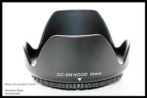 55mm - Petal Shaped Lens Hood