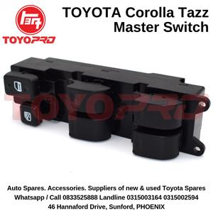 Toyota Corolla EE90 AE90 AE92 Tazz Window Master Switch