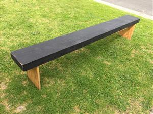 Long Plywood  Patio Multipurpose bench