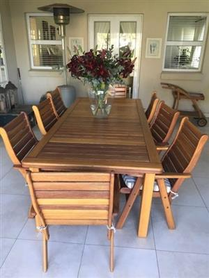 Patio Set 8 seater for sale