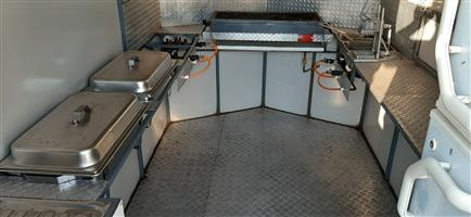 Kitchen trailer for hire