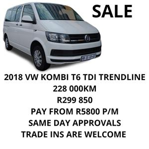 2018 VW Transporter 2.0BiTDI crew bus SWB 4Motion