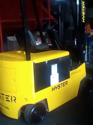 Hyster Electric Forklift 2.5 ton