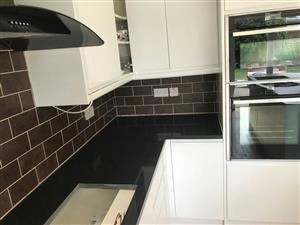 Affordable granite installation.