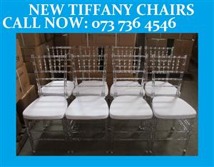 TIFFANY CHAIRS / PARTY CHAIRS