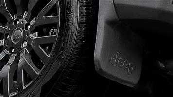 Jeep Wrangler mud flap guards