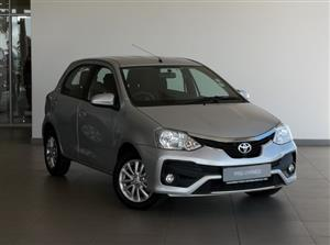 2018 Toyota Etios hatch 1.5 Sprint