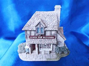 Lilliput Lane Jones The Butcher (Village Shops
