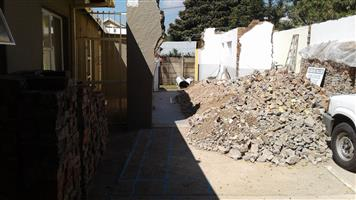 Free building backfill in and around roodepoort