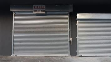 Retail on Ground Floor to let in Mini Mall on Halt Road Elsies River To Let
