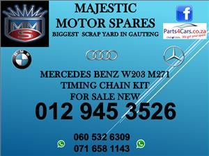 Mercedes benz W203 timing chain kit for sale
