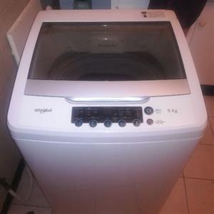 whirlpool 9 kg machine
