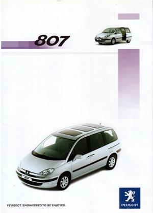 2005 Peugeot 807