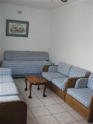 TWO BEDROOM FURNISHED FIRST FLOOR FLAT AVAILABLE IMMEDIATELY R5000 PM SHELLY BEACH ST MIKE'S