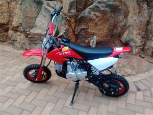 Junior Pit Bike 90cc 4 stroke Automatic with electric start - New