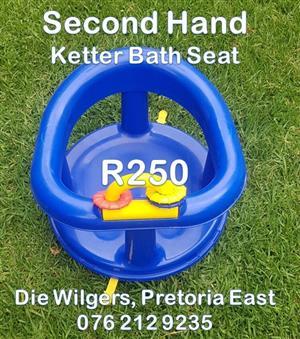 Second Hand Ketter Bath Seat