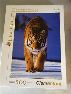 500 Piece Tiger puzzle
