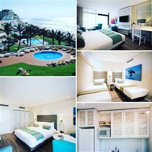 Umhlanga Sands 7-14 Dec 2 Bed 4 Slp  R 13 999  Cabana Beach 14-21 Dec 4 Slp R 16 999  ☎️0823345276