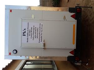 PK's Mobile Fridge for hire in Soweto