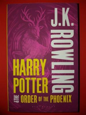 Harry Potter And The Order Of Phoenix - JK Rowling - Book 5 - Paperback.
