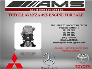 TOYOTA AVANZA 3SZ ENGINE FOR SALE