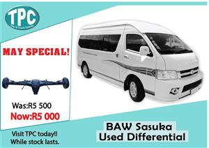 BAW Sasuka Used Differential For Sale at TPC