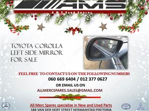 COROLLA LEFT SIDE MIRROR