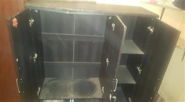 3 door cupboard for sale.