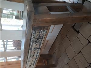 handmade side entry table