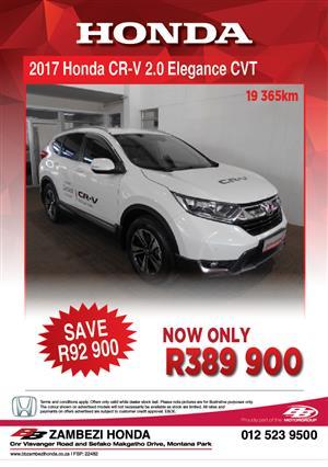 2017 Honda CR-V 2.0 Elegance auto