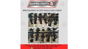 *HYUNDAI and KIA SHOCKS* - available now