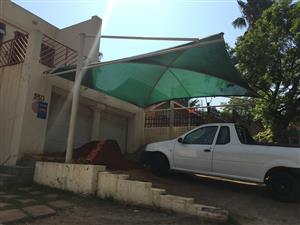 Carport shade net