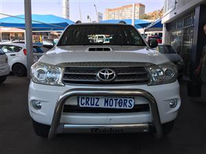 2010 Toyota Fortuner 3.0D 4D 4x4 Limited