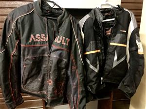 2 x Biker Jackets for sale