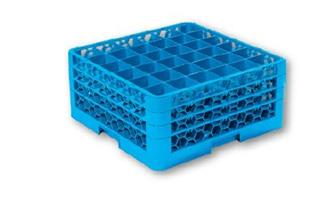 GLASS RACK 36 COMPARTMENT-GRC5036