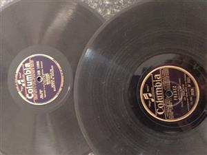 Various shellac record's for sale!
