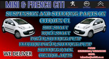 Used Suspension Parts And steering parts for Citroen C1