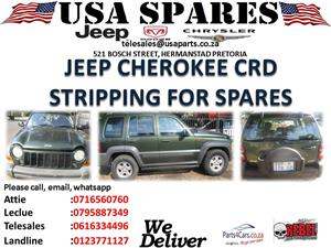 JEEP CHEROKEE CRD STRIPPING FOR SPARES