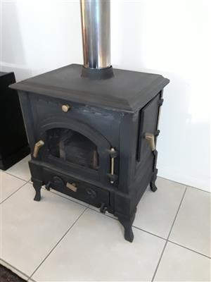Ceres, cast iron fireplace