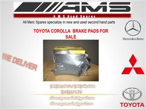 TOYOTA COROLLA BRAKE PADS FOR SALE