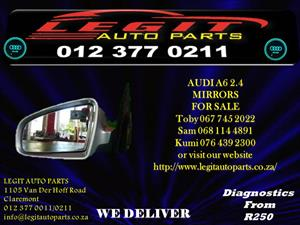 AUDI A6 2.4 MIRRORS  FOR SALE