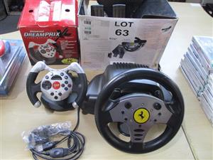 Assorting Gaming Steering Wheels - ON AUCTION