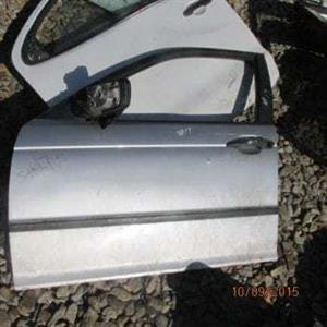 BMW E46 LEFT FRONT DOOR SHELL – USED