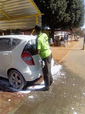 Car washer wanted in Garankuwa