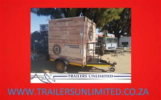TRAILERS UNLIMITED. SINGLE AXLE MOBILE KITCHENS TO PERFECTION.