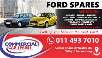 FORD CAR SPARES MOST MAKES & MODELS