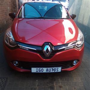 2016 Renault Clio 66kW turbo Expression