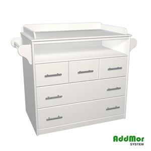 5 Drawer Compactum with our Christmas Sale of 15% off Was R3600.00 Now R3060.00 Save R540.00